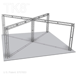 Andrew - 26Ft X 26Ft TK8 Aluminum Box Truss Booth