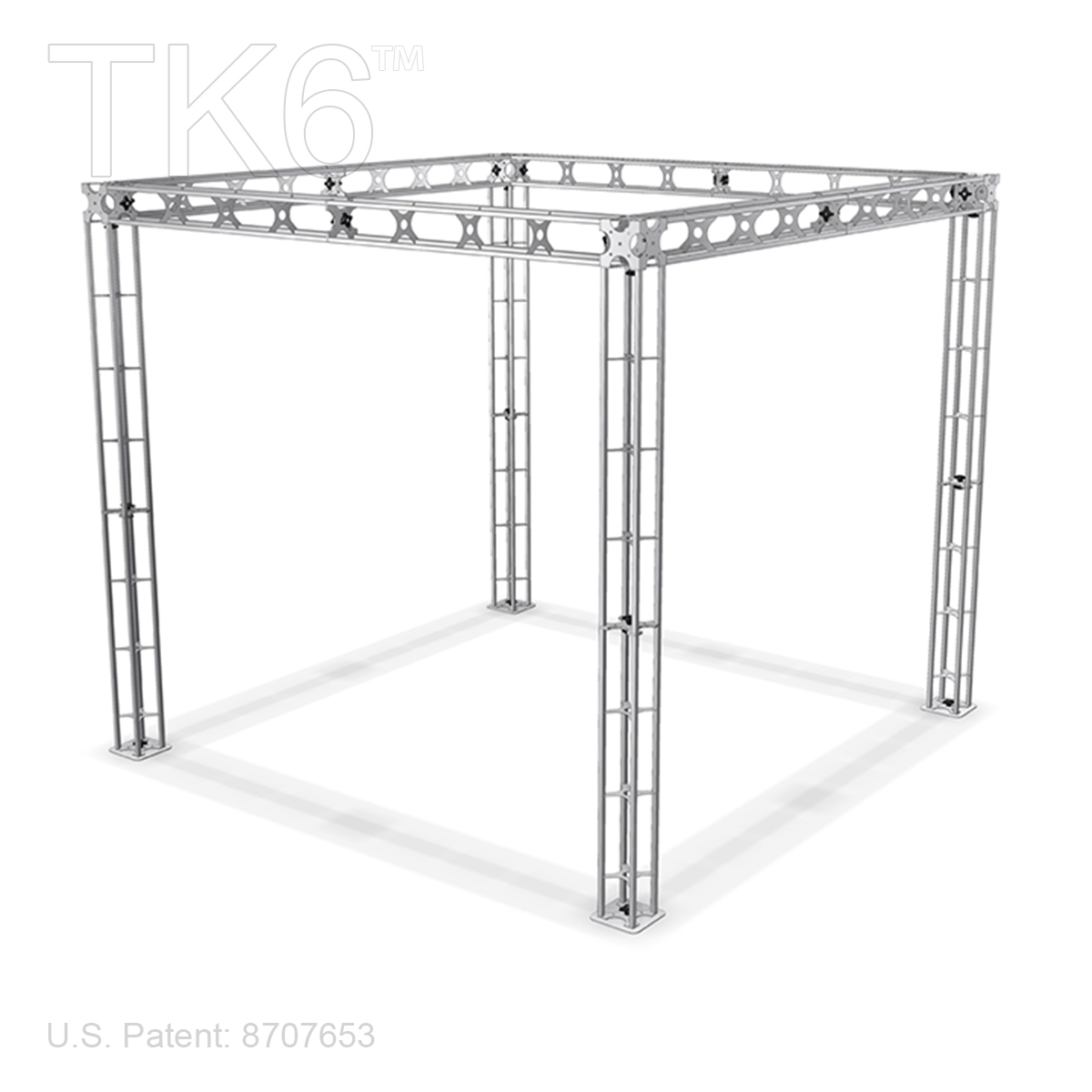 Bethel 10ft X 10ft Aluminum Box Truss Display Booth Frame