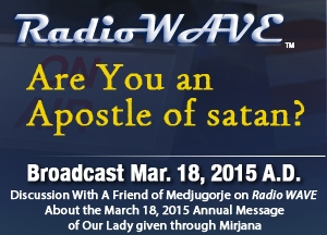 Are You an Apostle of satan? - Radio Wave March 18, 2015