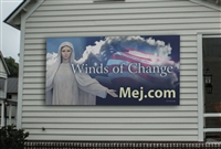 Winds of Change Vinyl Sign