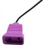 Hydroquip 09-0019C Receptacle Light Violet