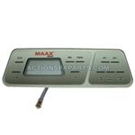 ****DISCONTINUED***Coleman Spas Topside Control Panel 400XL, OEM