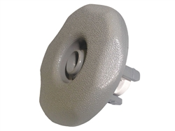Waterway Adjustable Mini Jet, Large Face, Directional, 5 Scallop, Gray