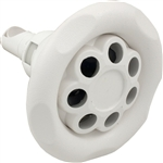 Waterway Power Storm Massage Jet White 5 Scallop 5""