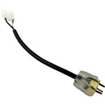 Ozonator Adapter Cord, 4 Pin AMP to MJJ, Yellow, 6""