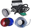 HydroQuip 120 Volt - 12 Volt Light Kit W/ Air Switch, Button & Lens