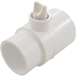 "Waterway PVC Adapter Tee Fitting w/ Air Relief Valve, 2"" Sl x 2"" Spg x 3/8"" FPT, 400-4260"