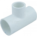 "PVC Reducing Tee, 1-1/2"" sl x 1-1/2"" sl x 1"" sl"