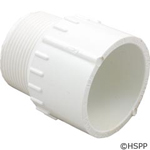 "PVC Adapter, 1-1/2"" sl X 1-1/2"" MPT, 436-015"
