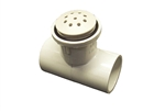 "Waterway Top-Flo Air Injector 1"" Tee Style White"