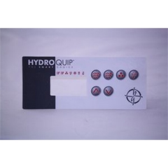 ECO-3 Topside Control Overlay Sticker 6 Button