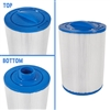 "Filter Cartridge, 5-5/8"" X 8"" X 1-1/2"" MPT,  35 SQ FT"