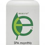 AquaClara Sustain is Now Eco One Spa Monthly 8 oz