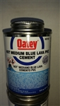 PVC Cement, Hot Medium Blue Lava 8oz