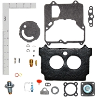 1974 - 80 Carburetor Repair Kit Ford Motorcraft 2 Barrel 2100 AMC Jeep 304 360