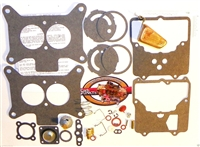 58 - 75 Ford Mercury Carb Rebuild Kit Autolite Motorcraft 2100 2-V Brass Float