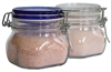 500 ml. Bormioli Fido Storage Jar with 1 lb. Bag of Salt