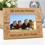 We Love You Mommy Personalized Frame