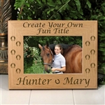 Create Your Own Horse Frame