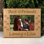 Best Friends Horse Picture Frame