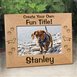 Personalized Dachshund Gifts