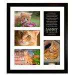 Cat Memorial Collage Frame