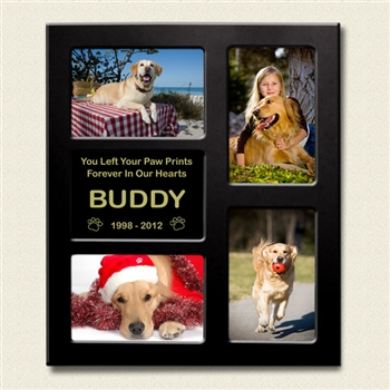 Dog Loss Collage Picture Frame