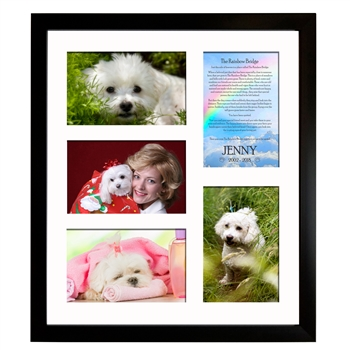 Rainbow Bridge Collage Frame