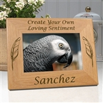 Personalized Bird Memorial Photo Frames
