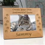 Create Your Own Cat Paw Memorial Frame