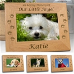 In Loving Memory Dog Frame