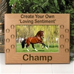 Create Your Own Memorial Frame For Horses