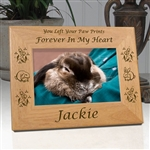 Personalized Rabbit Memorial Frame