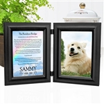 Rainbow Bridge Dog Loss Frame