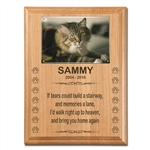 Pet Loss Plaque For Cats