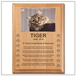 Remembrance Plaque for Cats