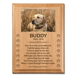 Memorial Plaque For Dogs