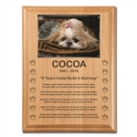 If Tears Poem Plaque For Dogs