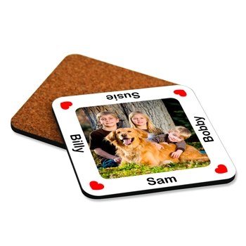 Photo Coaster For Dog Lovers