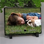 Rabbit Lover Photo Slate