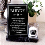 Pet Loss Candle For Dogs