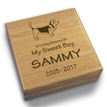 Dog Collar Keepsake Box