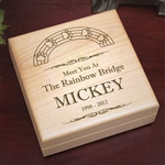 Rainbow Bridge Keepsake Box