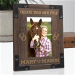 Create Your Own Rustic Ranch Horse Frame