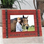 Create Your Own Barnside Horse Frame