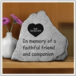 Personalized Memorial Stone For Pets