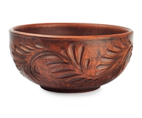 Floral Clay Bowl