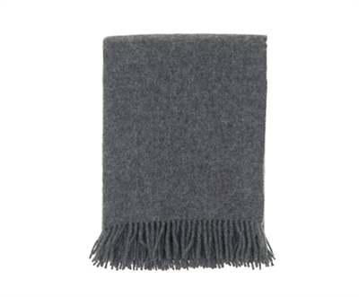 Charcoal Grey Throw