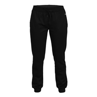 Womens Jogger Pant with side pockets. Sizes S-2XL. Black