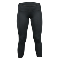 "Womens Tights with 3"" elastic waist. Sizes S-2XL. Black, Black Shock"